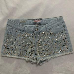 2/10$ Blingy cut off shorts